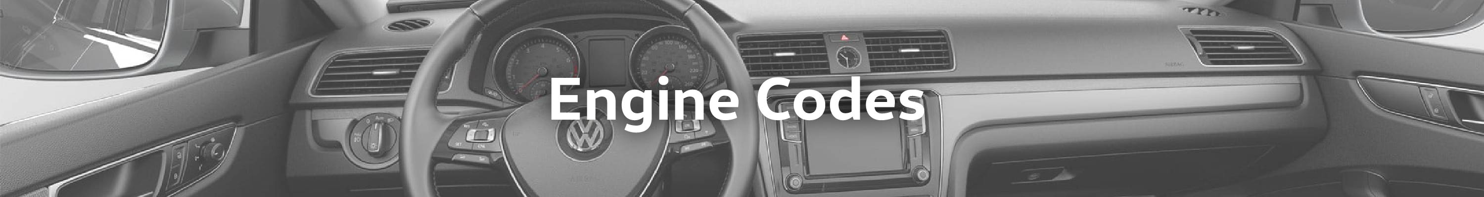 Engine Codes – Owasco Volkswagen